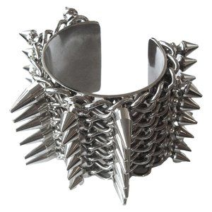 Burberry Prorsum Spring 2011 Spiked Bracelet Cuff